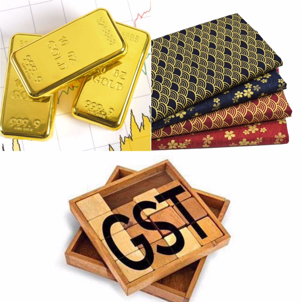GST Effect on Gold, Textiles, Jewellery and Yarn